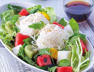 蔬果王国历险记,四川凉面的做法,爽口蔬果凉面沙拉