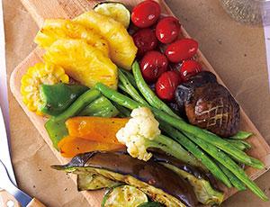 水果沙拉乐队,炙烤食蔬沙拉